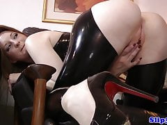 Bigtitted Euro Teen von Opa doggystyled