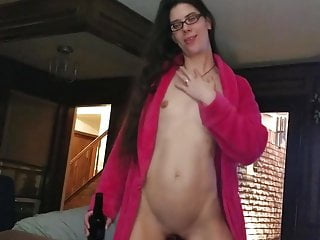 Wife strips for hubby