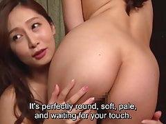 Trio JAV FFM CMNF Aki Sasaki e Miko Komine Sottotitolato