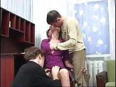Friend Invited For Threesome With Mom !
