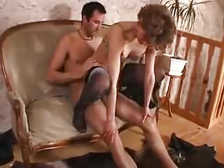 .Mature mom son  anal love.