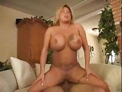 Hot Busty Blonde BBW MILF Cougar