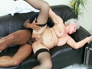 Pornstar Mature video: Grandma Norma: cure me with your black fat strong dick