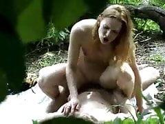 Sex na plaży Voyeur Caught Couple