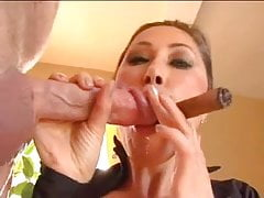 Asian Milf KD - Cigar Cock e Cum