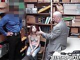 Hardcore fucking on the office desk with teen slut Ariel McG
