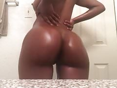 Oiled up that ass