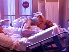 YOU SHOOK ME - vintage 80's big tits nurse music video