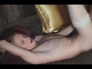 Женская мастурбация в поезде