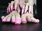 Pink Feet Joi