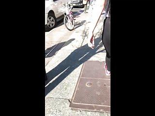 Latina Bitch Yoga video: Phat Ass Latina Bitch in See Through Yoga Pants