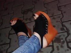 zeppe a piattaforma - sandali con tacco alto