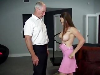 Oldyoung Big Boobs Stockings video: The Tale of Old Bastard