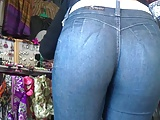 Perfect ass in jeans #1