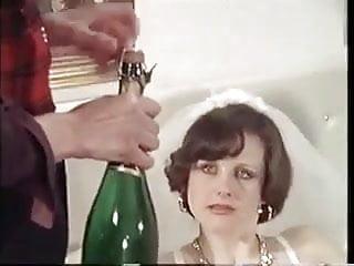 Stockings Mature Retro video: Vintage bride fucks 2