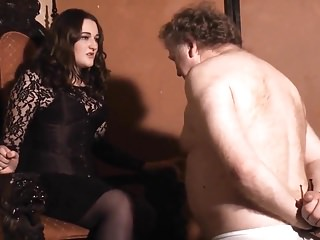Femdom Hd Videos video: hot faceslapping mistress