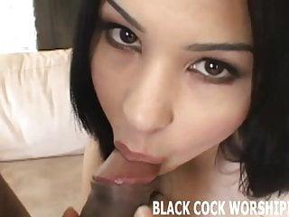 Cuckold Bdsm Femdom video: I want you to watch me take two big black cocks