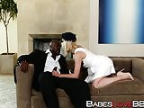 Lily Lebeau cheats on her husband with hung chauffeur