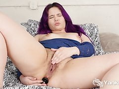 Yanks Hottie Hermine Haller Hračky Její Ass