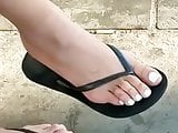 Candid feet --- Portuguese nice toes