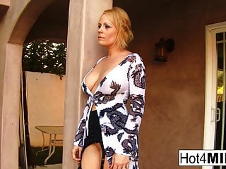 Busty blonde MILF Sunny loves that black cock