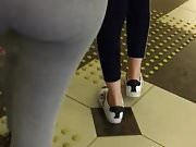 Turkish big fat ass tights walking