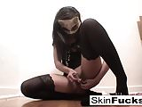 Very naughty pussy play with Skin Diamond