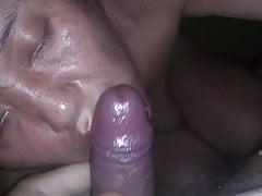 il suo primo orgasmo alla telecamera.