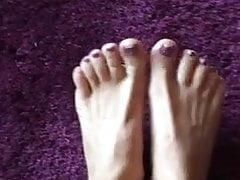 Lady Laura - pés sensuais! Provocação