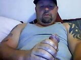 Beefy Tatted Daddy Cums On Cam