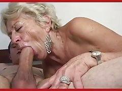 Mamie allemande baise