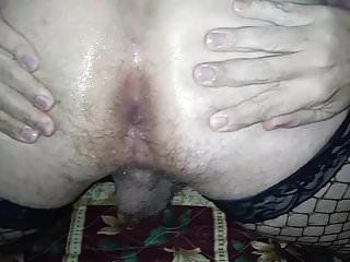 Interracial Shemale Guy Fucks Shemale Shemale Bareback Shemale video: Sissy Von Trap - Part 5