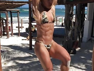 Milf European Hd Videos video: Imagine sex with this blonde muscle-bomb