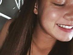 Hot teen s úzké kundičky poslat Snapchat akty