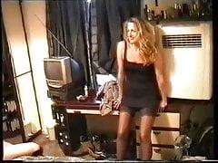 UK homemade trannie plus 1 girl