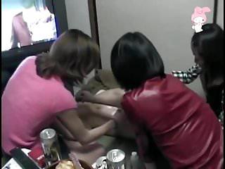 Lesbians Asian Japanese video: Amateur Girl Dildo Attack