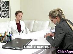 Casting Agent von Client Beauty gefickt