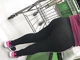 Pawg booty mature Latina milf leggings vpl