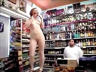 Tits,Flashing,Workers,Shop Girl