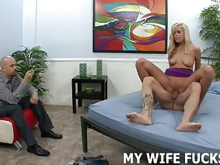 Cuckold Bdsm porno: I want to watch my wife have a really hard orgasm