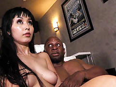 Marica Hase Enjoys Buttfuck With Big Black Cock