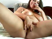 Delicious Woman smoking