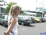 Amandine young blonde wants to make him jealous