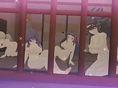 Senran Kagura Sexy Team Finisher Compilación Habitación oculta