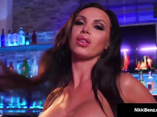 Busty Babes Nikki Benz & Abigail Mac Finger Bang Their Twats