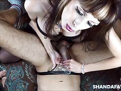 Shanda's Pegging Prostate Exam!