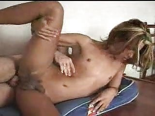 Guy Fucks Shemale Shemale Bareback Shemale Big Cock Shemale video: When a beautiful femboy Ts is analed wildly by a rough man