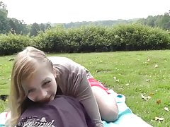 Paar im Park