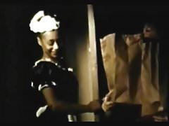 Vintage - Czarna pokojówka zasługuje na podwyżkę