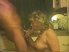 Beautifull Rigid Bodied Mature Demonstrates How To Work A Cock
